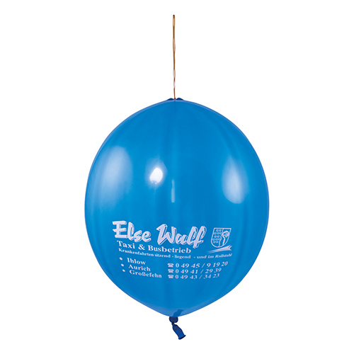 Punch ballon blauw
