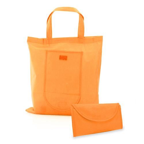 Opvouwbare tas oranje