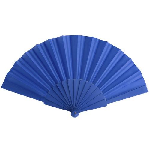 Spaanse waaiers bedrukken blauw