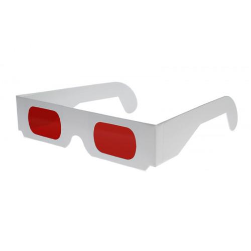 Kartonnen decoder 3d bril