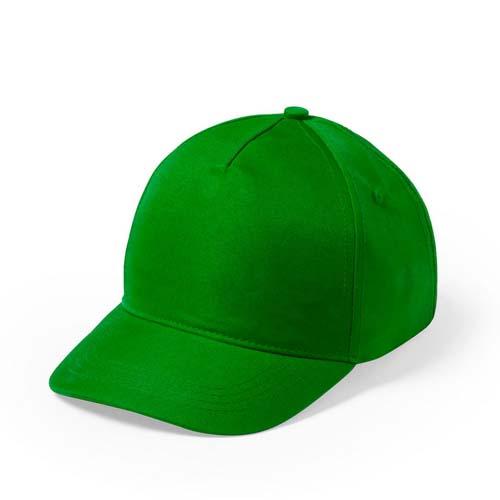Baseball cap 5 panel budget bedrukken groen