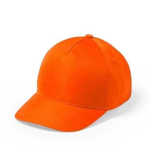 Baseball cap 5 panel budget bedrukken oranje