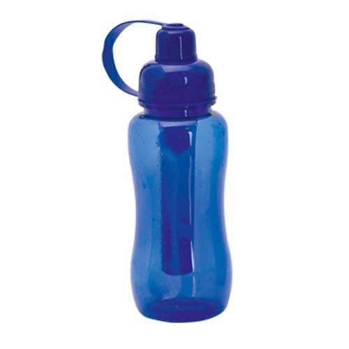 Bidon 600ml met ijsstaaf bedrukken blauw