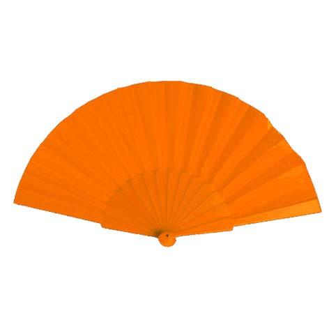 Budget waaier bedrukken oranje