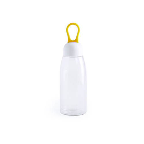 Drinkbeker hittebestendig 480ml bedrukken geel