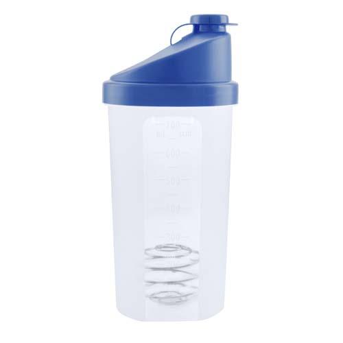 Fitness drinkbeker 700ml bedrukken blauw
