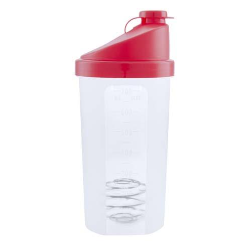 Fitness drinkbeker 700ml bedrukken rood