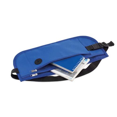 Heuptasje met vakken bedrukken blauw