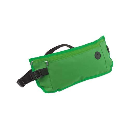 Heuptasje met vakken bedrukken groen