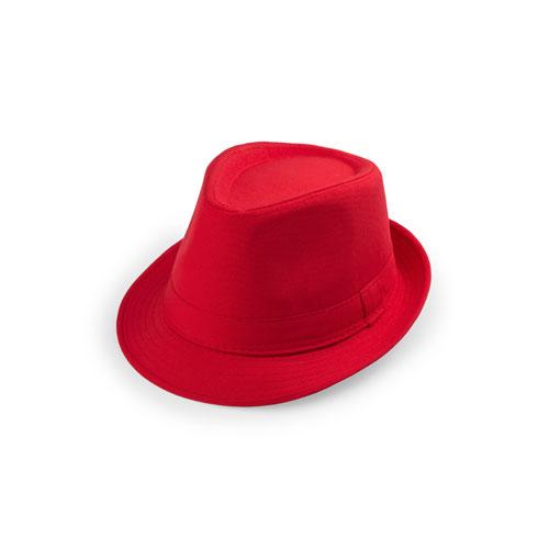 Katoenen hoed bedrukken rood