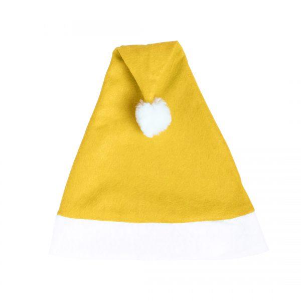 Kerstmutsen bedrukken geel