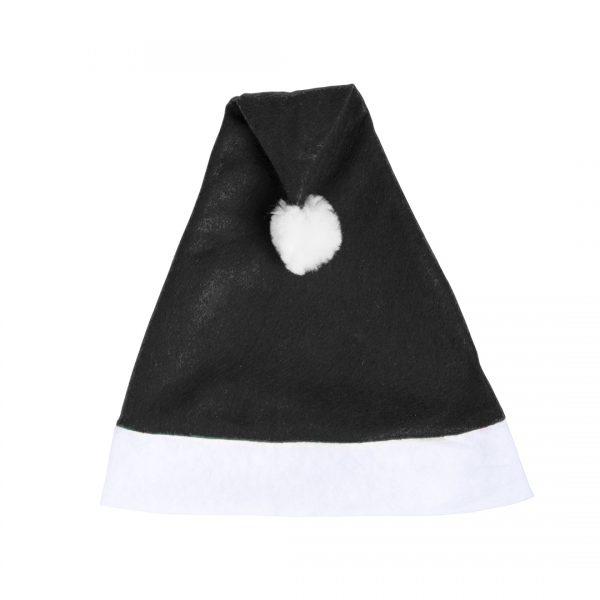 Kerstmutsen bedrukken zwart