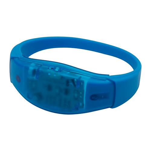 LED lichtgevende armband blauw