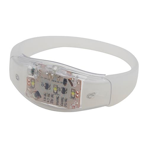 LED lichtgevende armband wit