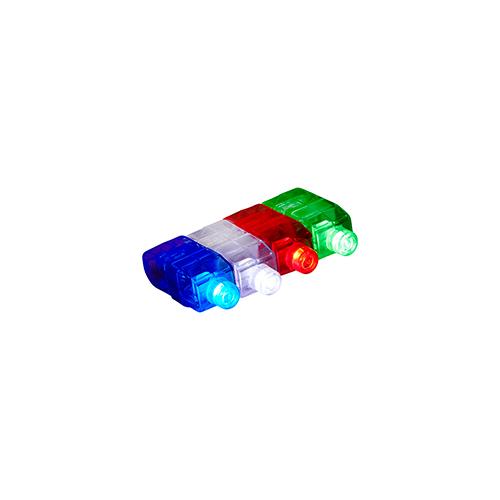 Led vingerlampje multicolor