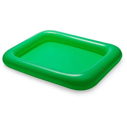 Opblaasbaar dienblad bedrukken groen