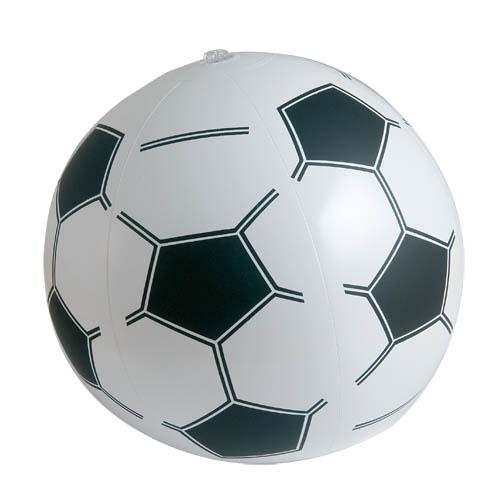 Opblaasbare strandbal voetbal 25cm bedrukken