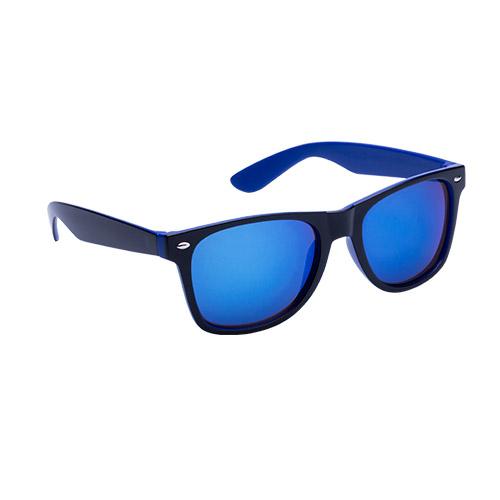Party zonnebril bedrukken blauw