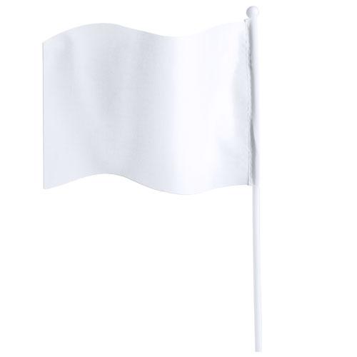 Polyester vlaggetjes bedrukken wit