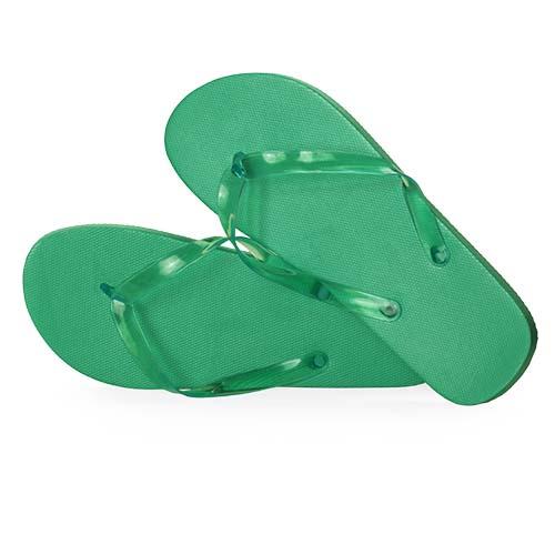 Slippers unisex bedrukken groen