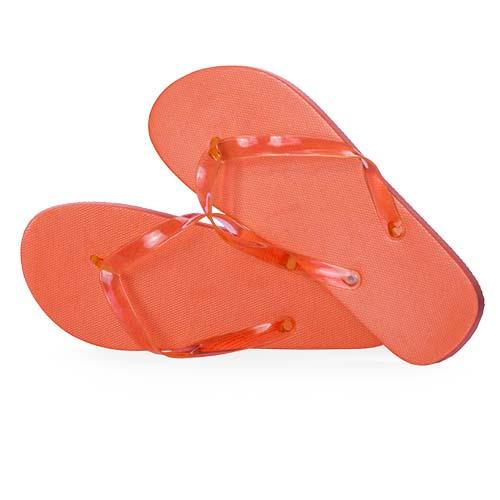Slippers unisex bedrukken oranje