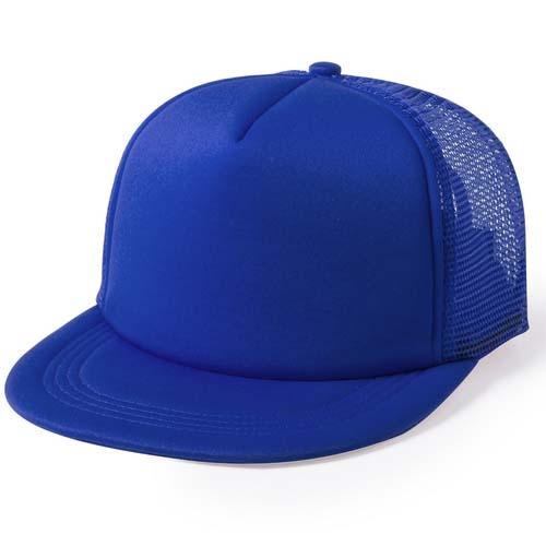 Snapback cap 5 panel mesh bedrukken blauw