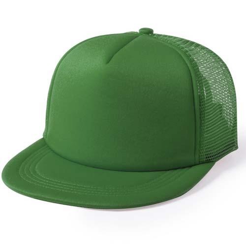 Snapback cap 5 panel mesh bedrukken groen