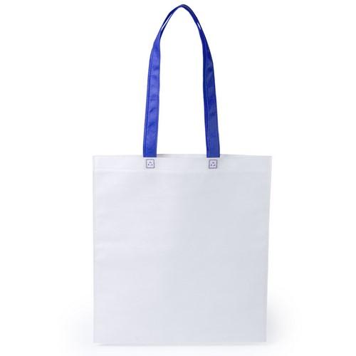 Stijlvolle shopper tas bedrukken blauw