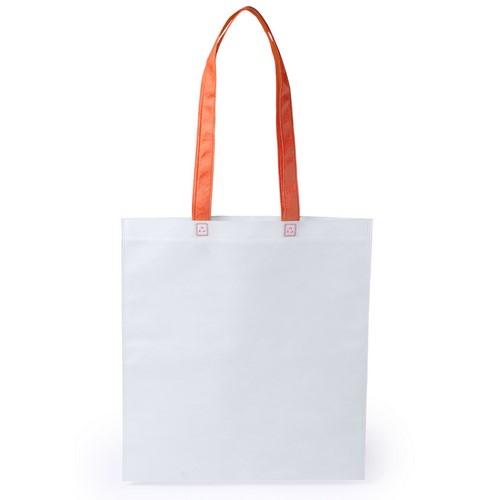 Stijlvolle shopper tas bedrukken oranje
