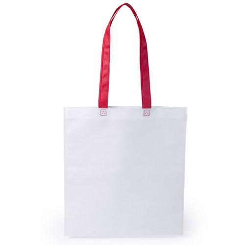 Stijlvolle shopper tas bedrukken rood