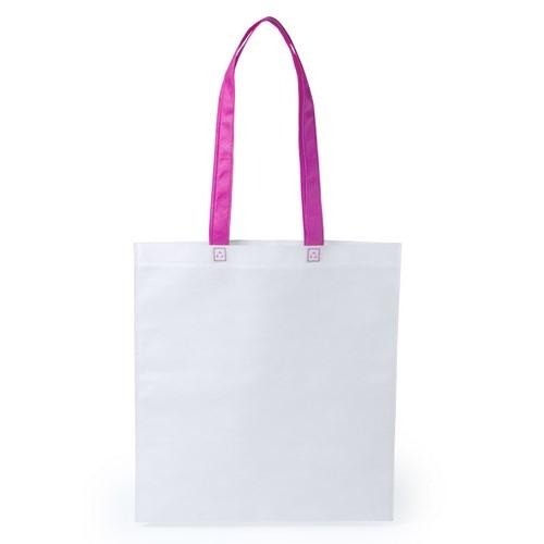 Stijlvolle shopper tas bedrukken roze