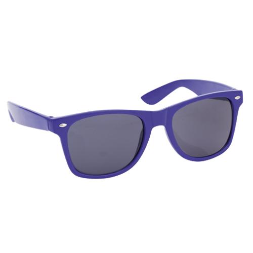 UV400 zonnebril met logo blauw
