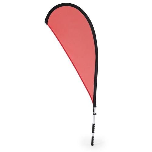 Vlag draagrugzak bedrukken rood