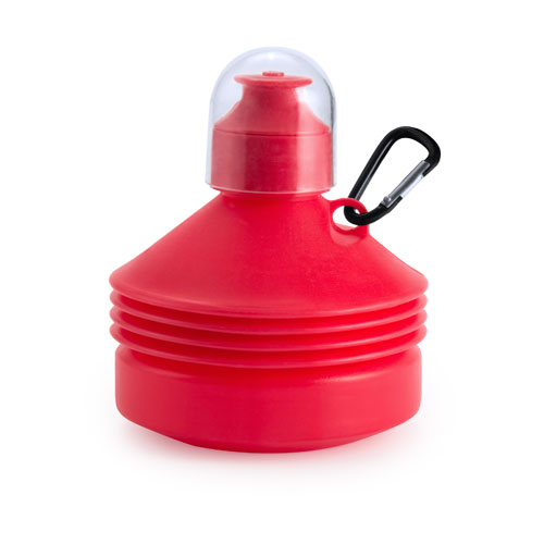 Vouwfles drinkbeker 570ml bedrukken rood
