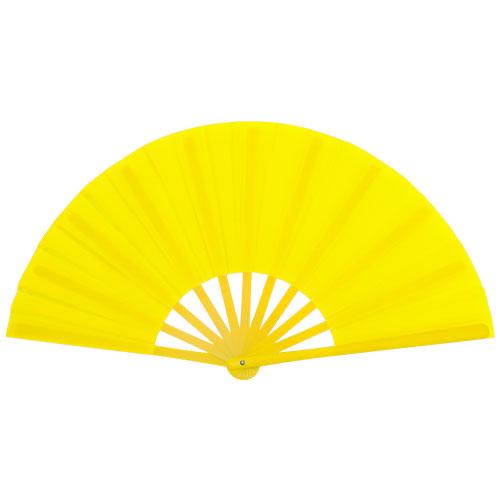 Waaier maxi formaat bedrukken geel