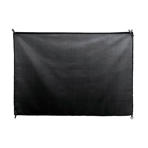 XL festival vlag 100x70cm bedrukken zwart
