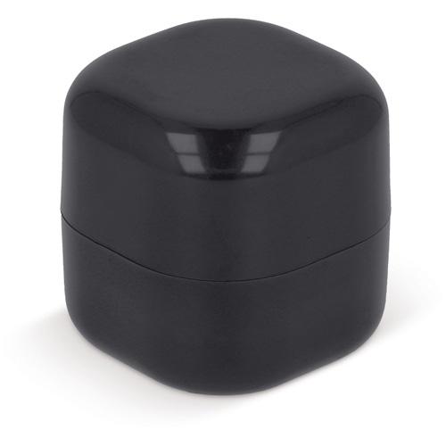 Lippenbalsem kubus bedrukken zwart
