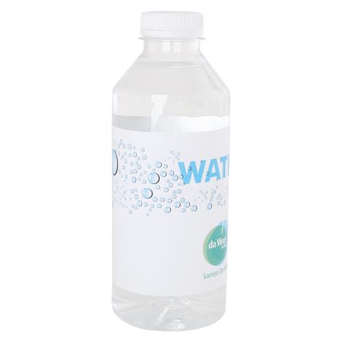 Waterflesje 330ml bedrukken wit