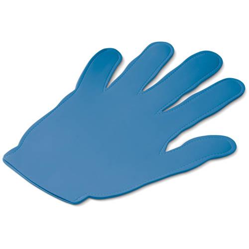 Evenementen zwaaihand bedrukken blauw