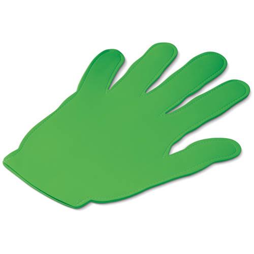 Evenementen zwaaihand bedrukken groen