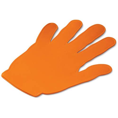 Evenementen zwaaihand bedrukken oranje