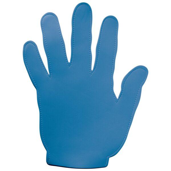 Evenementen zwaaihand foam blauw