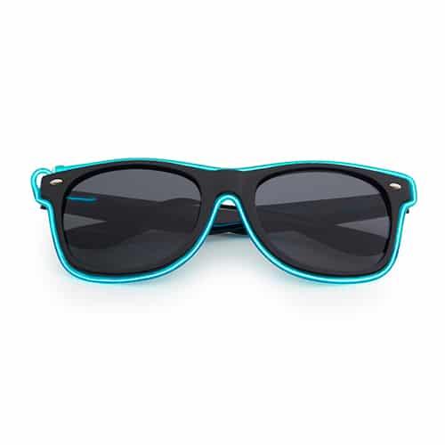 Neon zonnebril groen