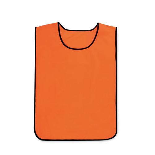 Oranje sporthesje bedrukken