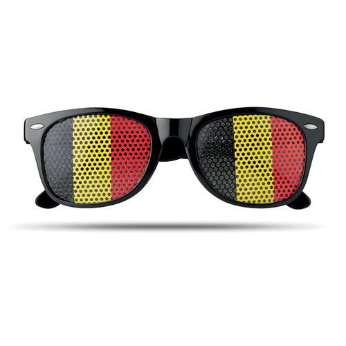 Pinhole bril vlag belgie voor
