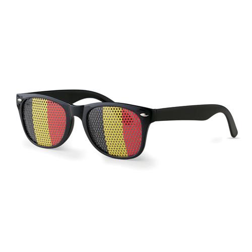 Pinhole bril vlag belgie zijkant