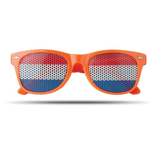 Pinhole bril vlag nederland voor
