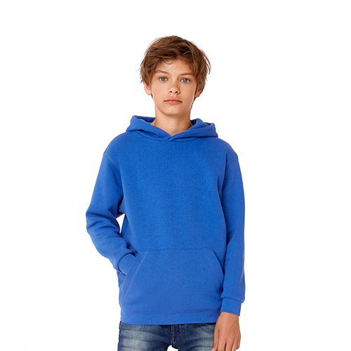 Basic hoodie kids bedrukken