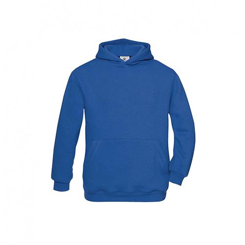 Basic hoodie kids blauw