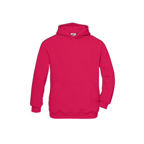 Basic hoodie kids roze